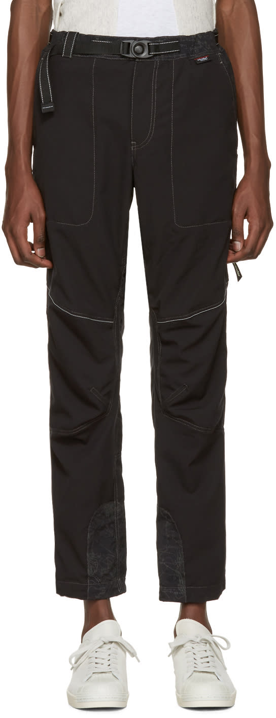 And Wander Black Schoeller Reflect Trousers