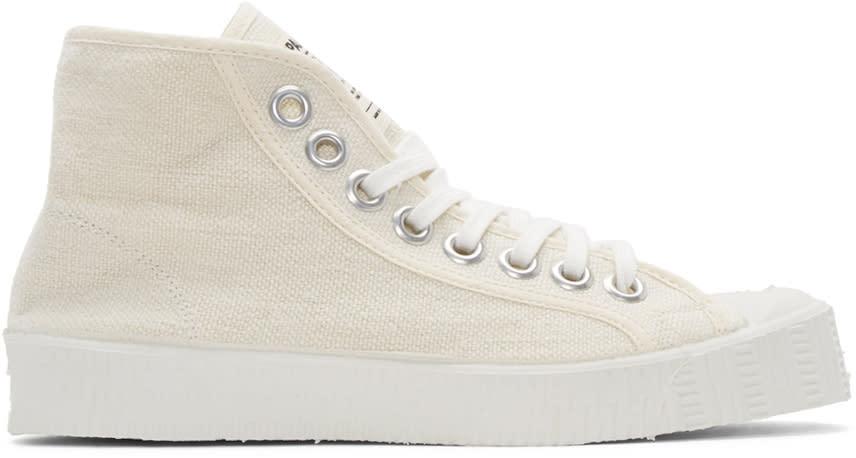 Spalwart Ecru Special High-top Sneakers
