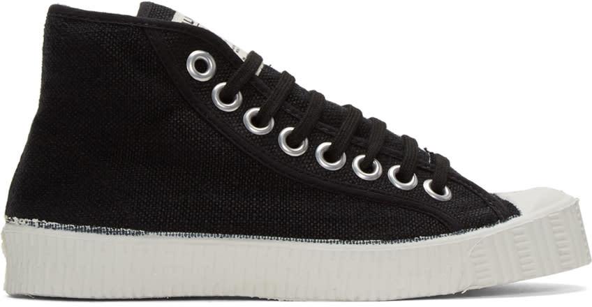 Spalwart Black Special High-top Sneakers