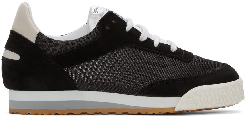 Spalwart Black Pitch Sneakers
