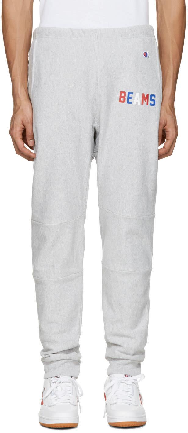 Champion X Beams Grey Logo Lounge Pants
