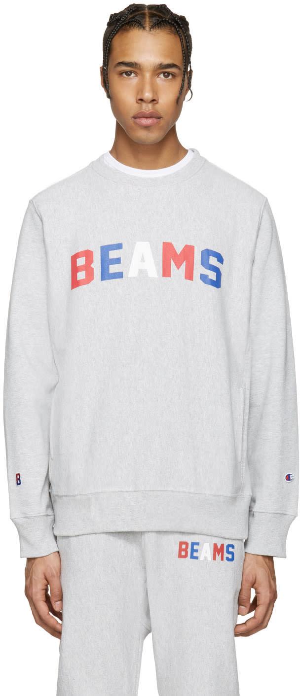 Champion X Beams Grey Logo Pullover