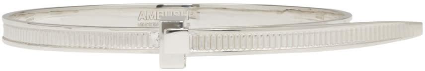Ambush Silver Sss Zip Tie Bracelet