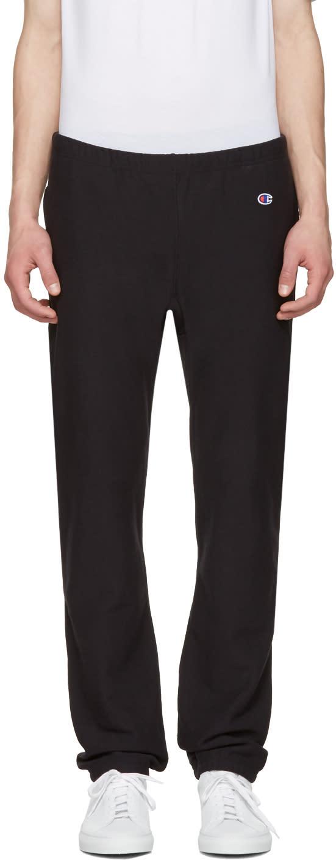Champion Reverse Weave Black Lounge Pants