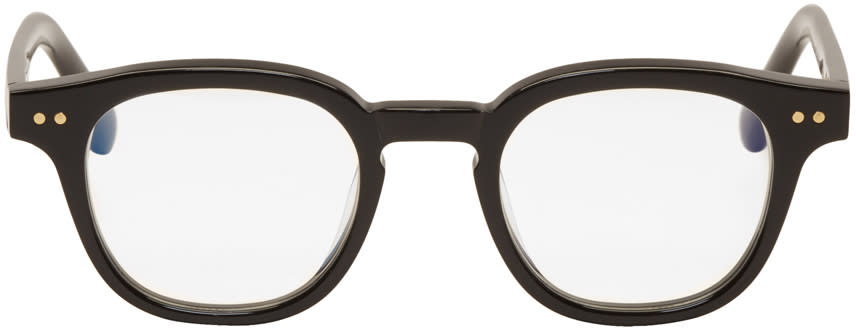 Image of Gentle Monster Black Bowie Glasses