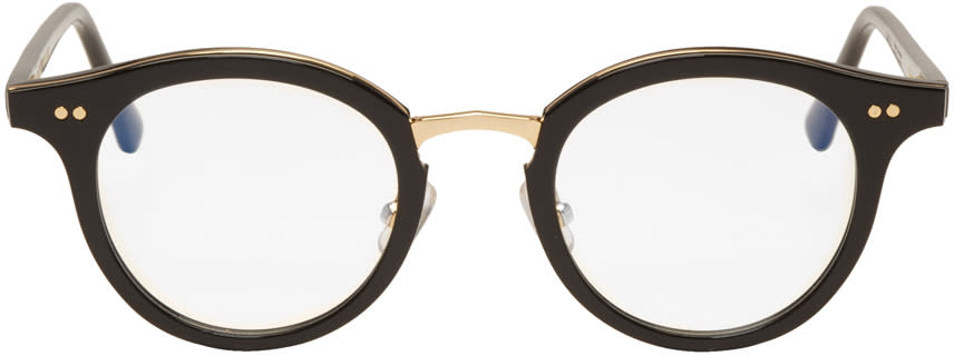 Image of Gentle Monster Black Classico Glasses