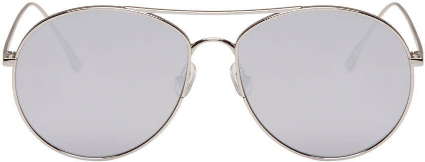 Gentle Monster Silver Ranny Ring Sunglasses