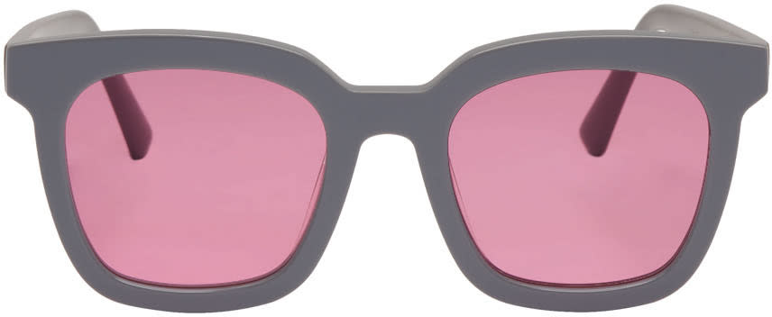 Gentle Monster Grey Finn Sunglasses