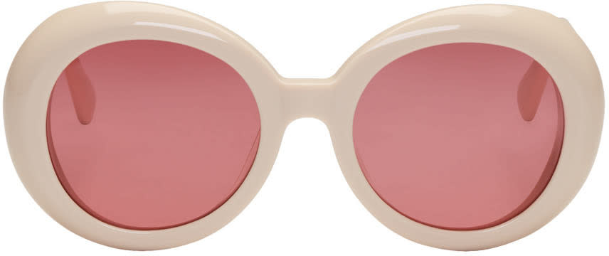 Gentle Monster Off-white red Pocket Sunglasses