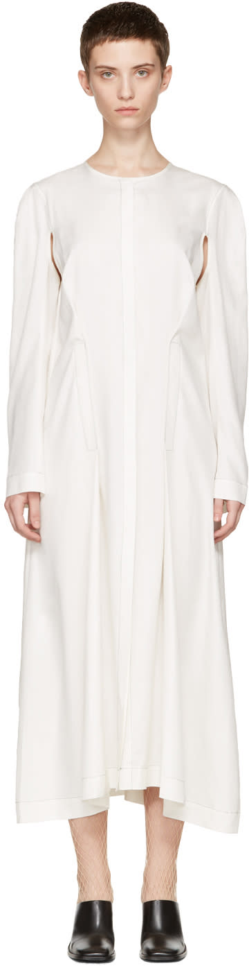 Eckhaus Latta Off-white Duster Dress