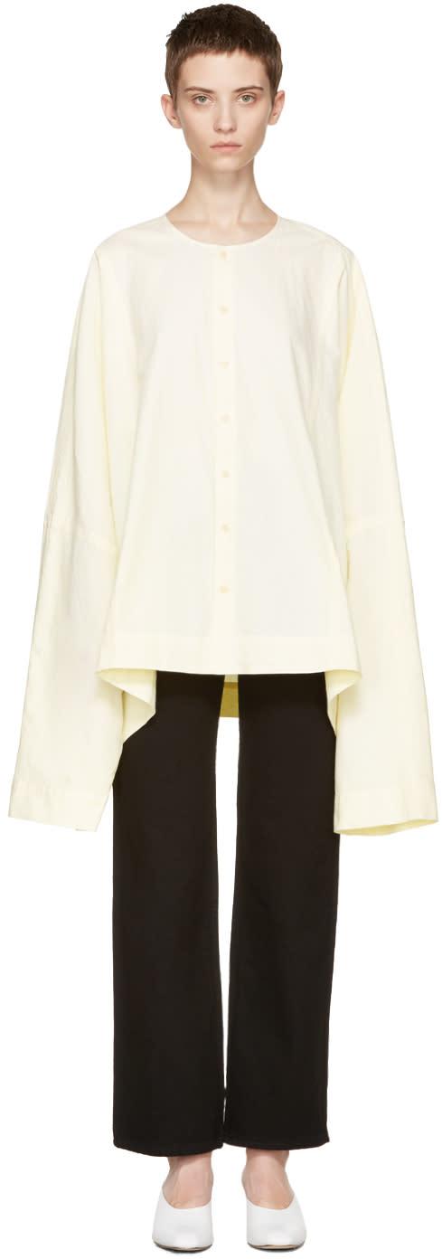 Eckhaus Latta Yellow Extended Shirt