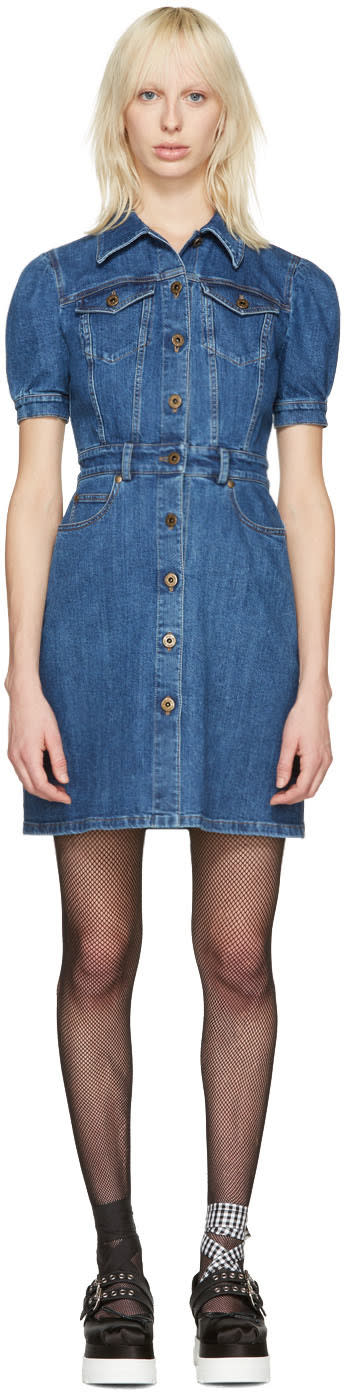 Miu Miu Blue Denim Dress