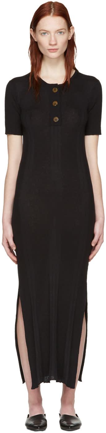 Wendelborn Black Rib Dress