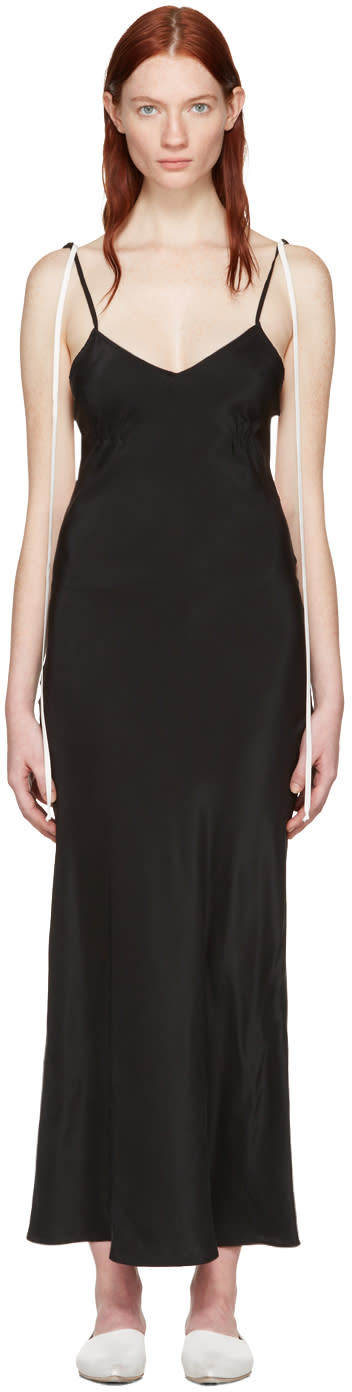 Wendelborn Black Combo Slip Dress