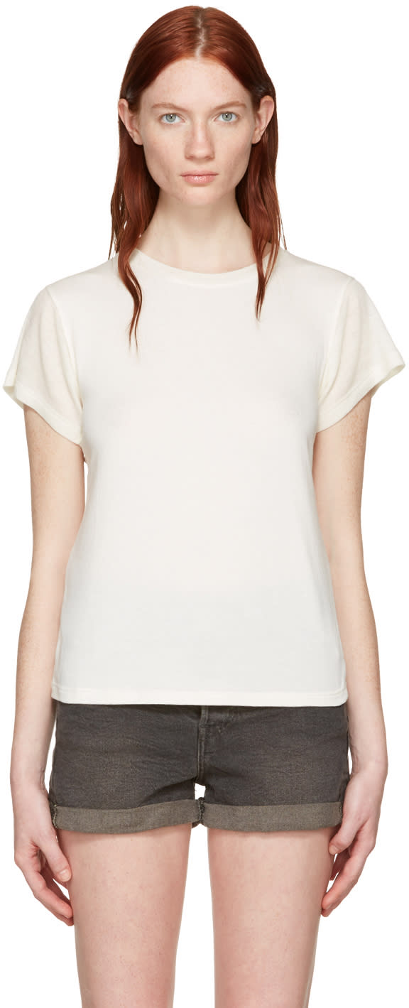 Wendelborn White Combo T-shirt