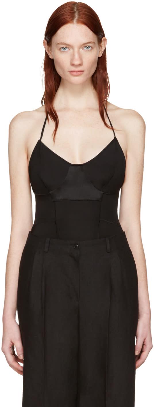 Wendelborn Black Inside Out Bodysuit