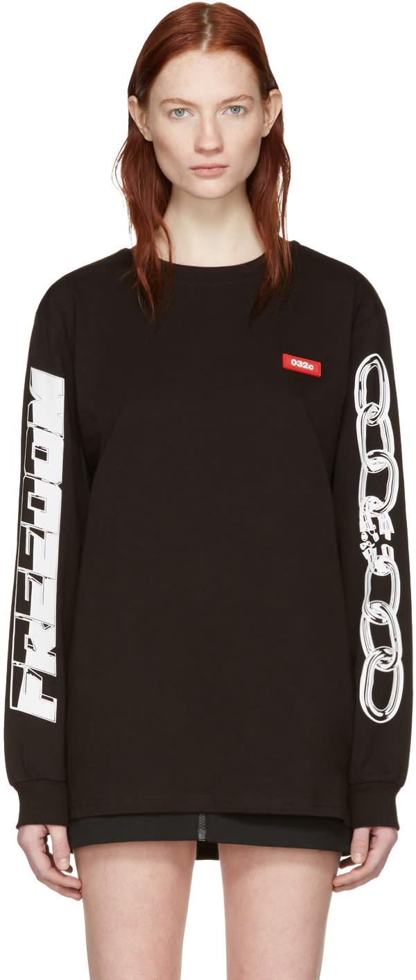 032c Black Chains Graphic T-shirt
