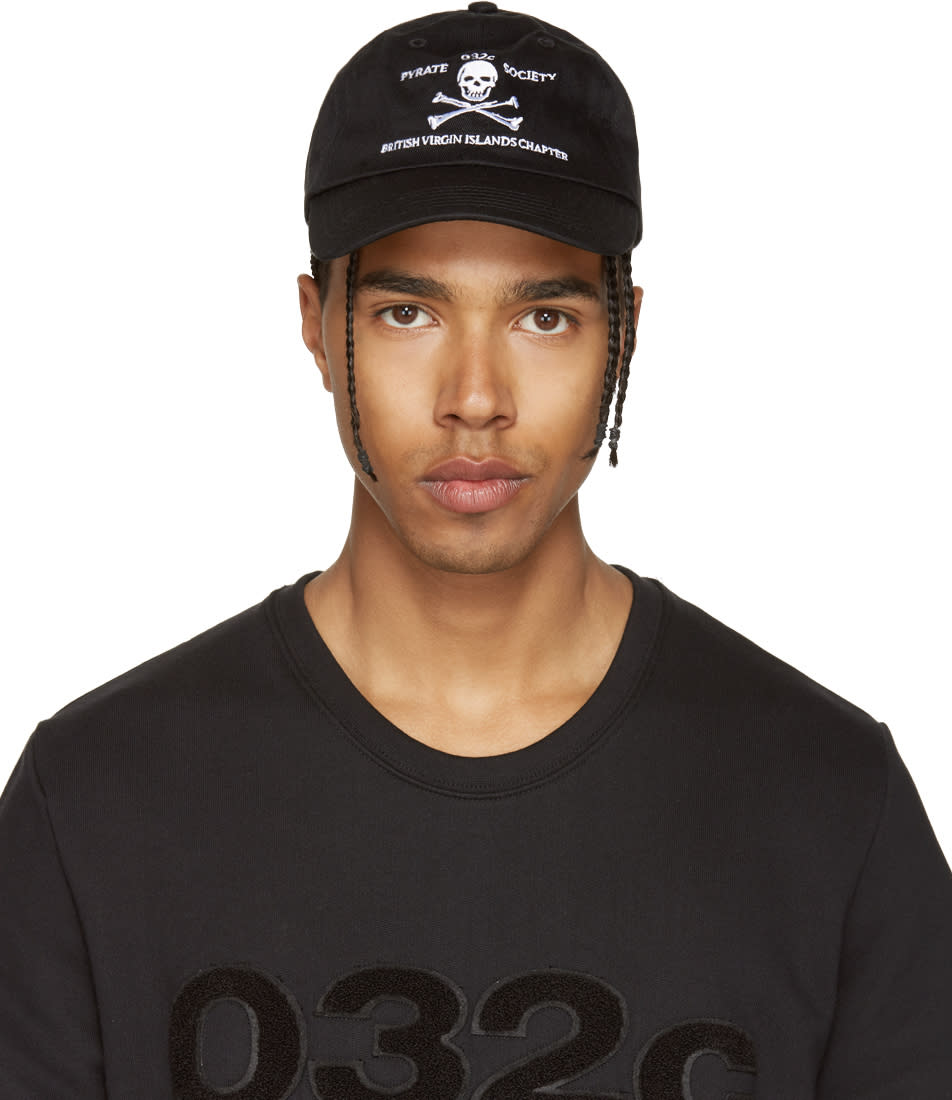 Image of 032c Black Pyrate Society Cap
