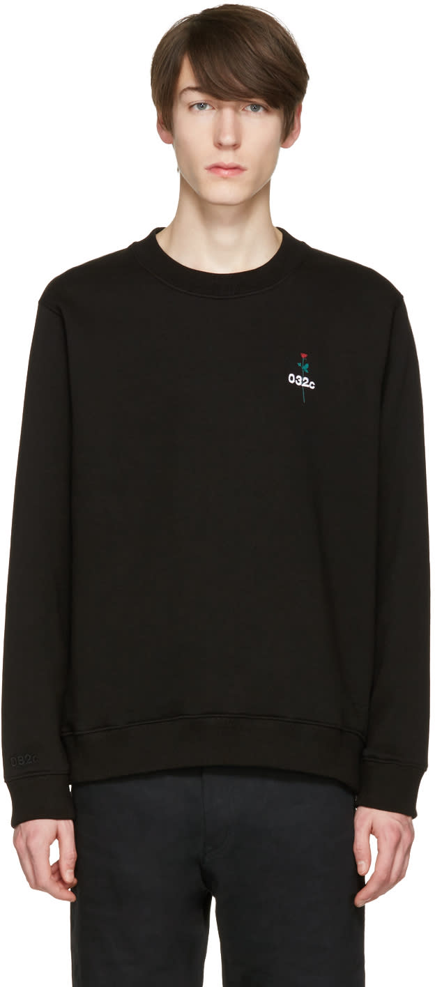 Image of 032c Black dont Dream Its Over Sweatshirt