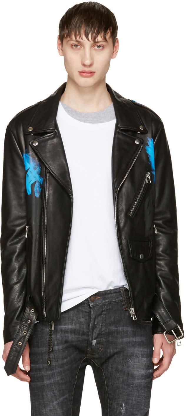 Faith Connexion Black Leather Brexit Jacket