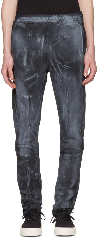 Faith Connexion Black Bleached Urban Jogger Lounge Pants