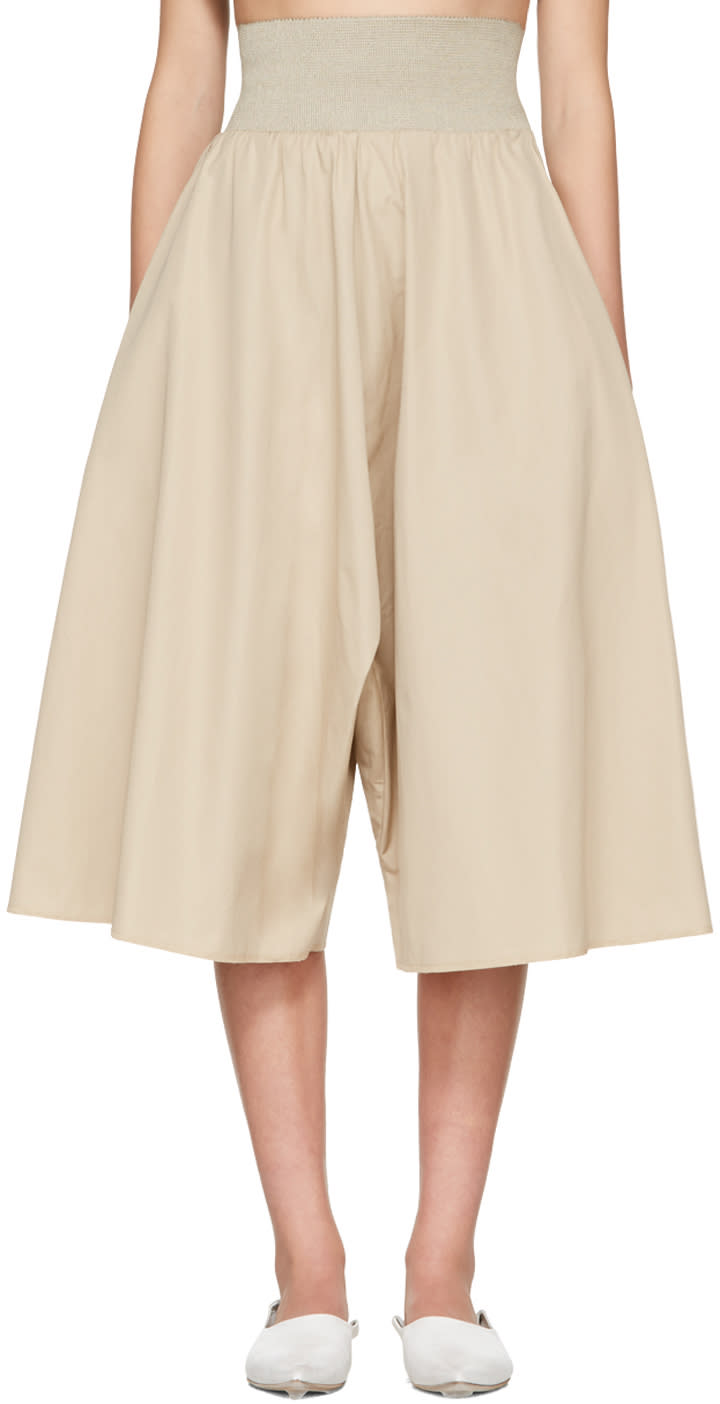 Image of Bless Beige Long Culottes