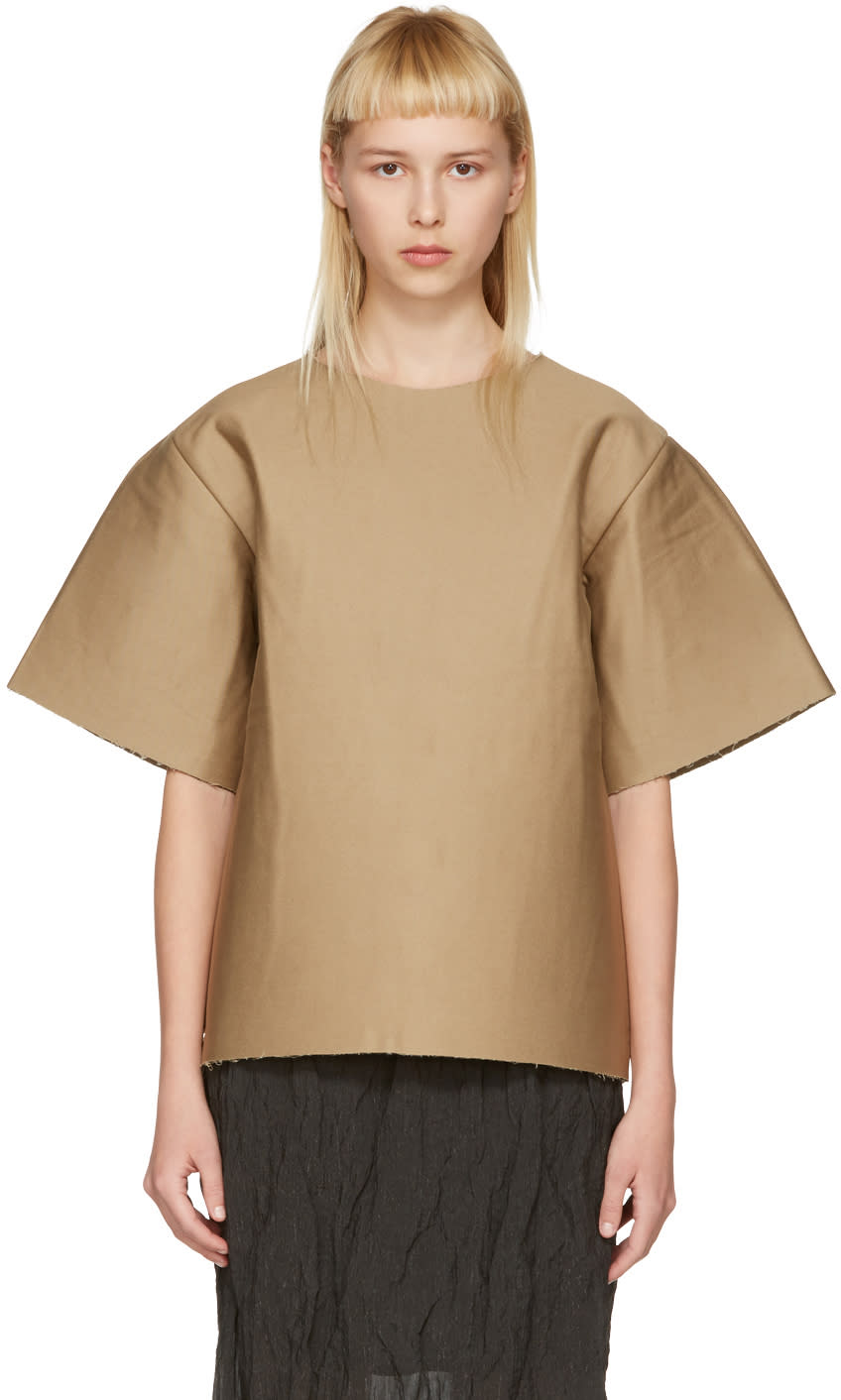 Image of Bless Brown Cardboard T-shirt