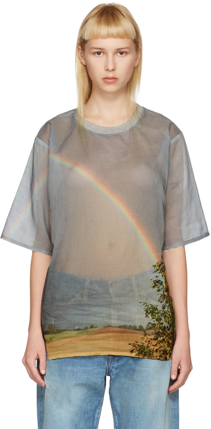 Bless Multicolor Rainbow T-shirt