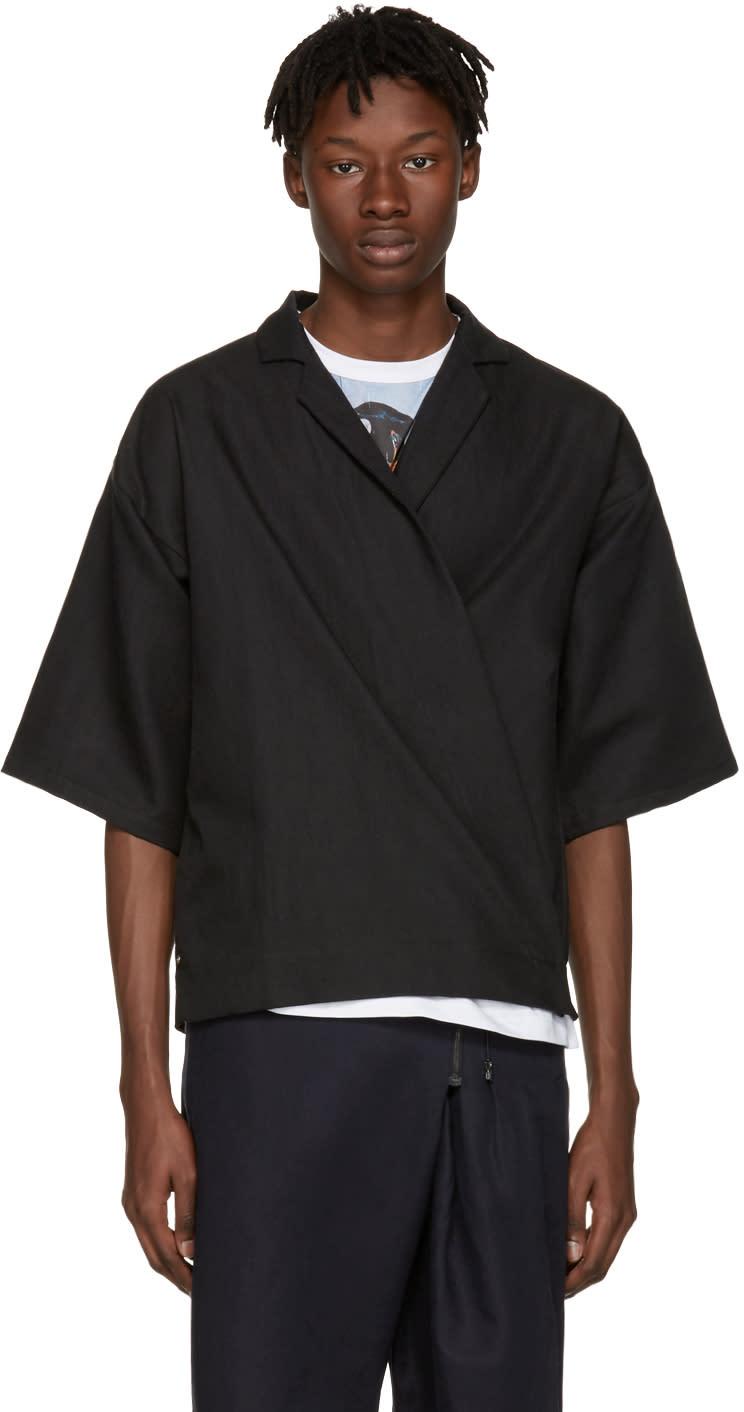Image of Bless Black Kimosakko Shirt