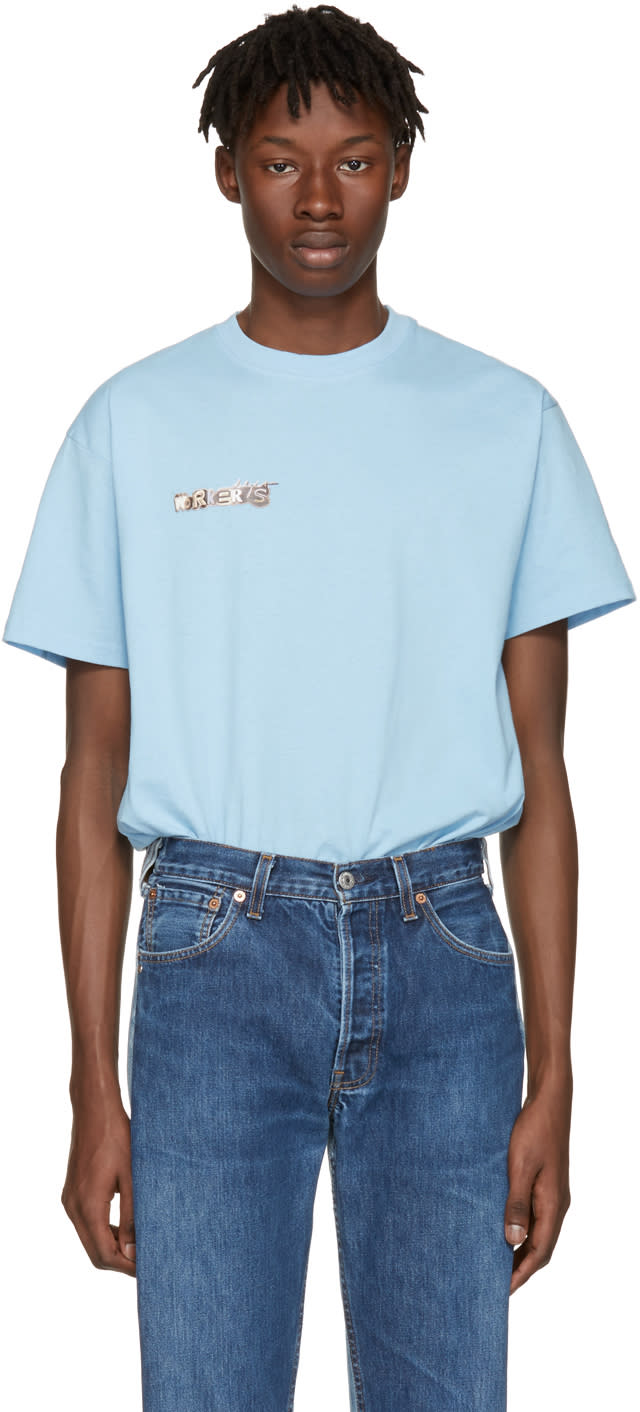 Image of Bless Blue Workers Delight T-shirt