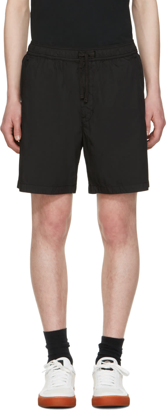 Stone Island Shadow Project Short Noir Bermuda