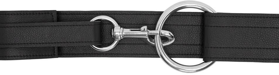 Ribeyron Ssense Exclusive Black Leather Belt