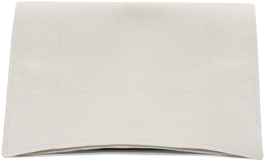 Ribeyron White Lunch Bag Pouch
