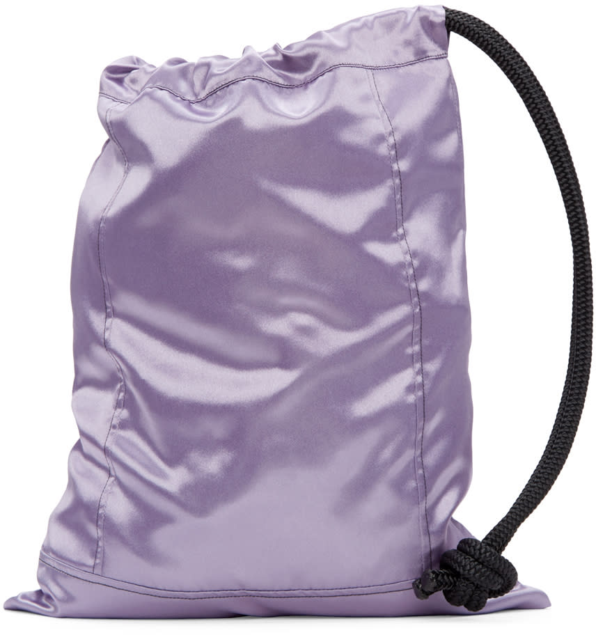 Ribeyron Ssense Exclusive Purple Pouch Bag