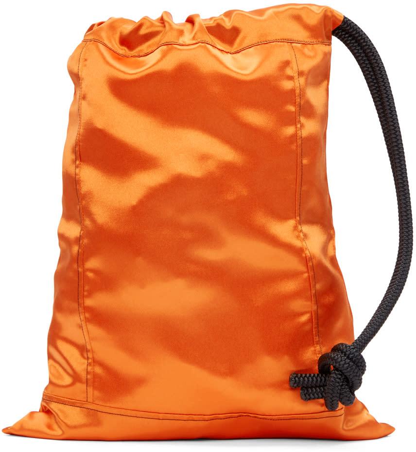 Ribeyron Orange Pouch Bag