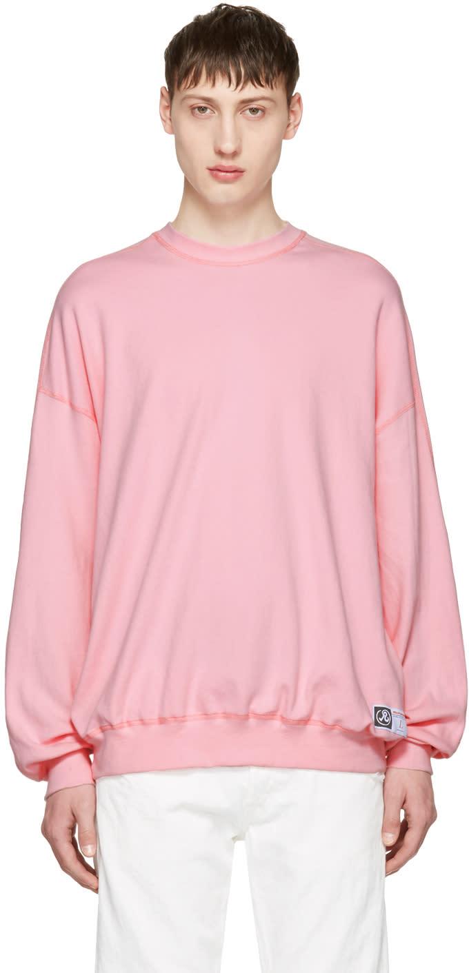 Richardson Pink Simple Sweatshirt