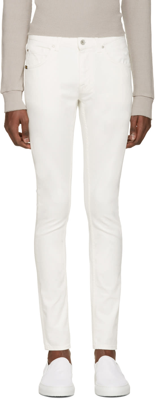 Tiger Of Sweden Jeans White Slim Jeans