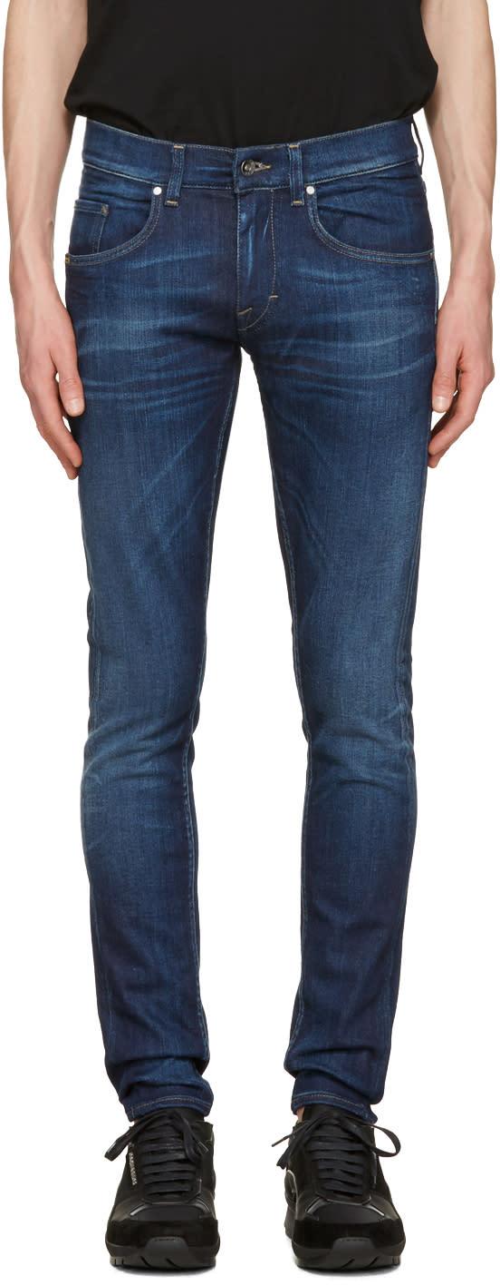 Tiger Of Sweden Jeans Blue Slim Jeans