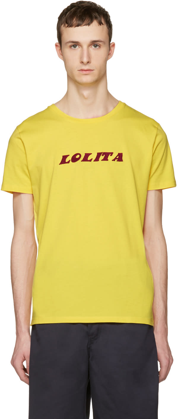 Nasaseasons Yellow lolita T-shirt
