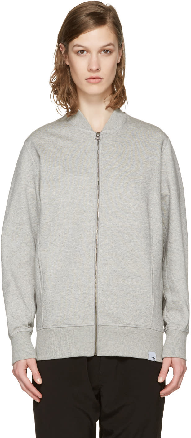 Image of Adidas Originals Xbyo Grey Yamayo Terry Track Jacket