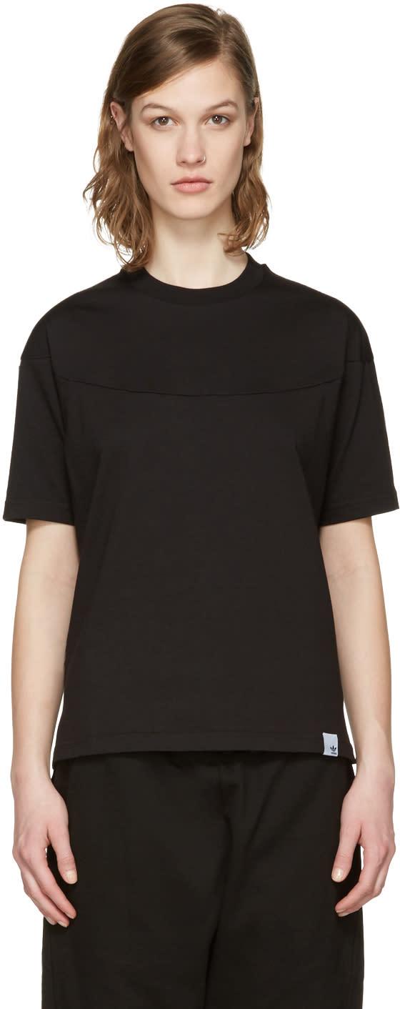 Adidas Originals Xbyo Black Panelled T-shirt