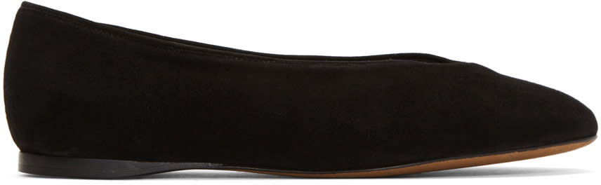Image of Alumnae Black V-line Slippers