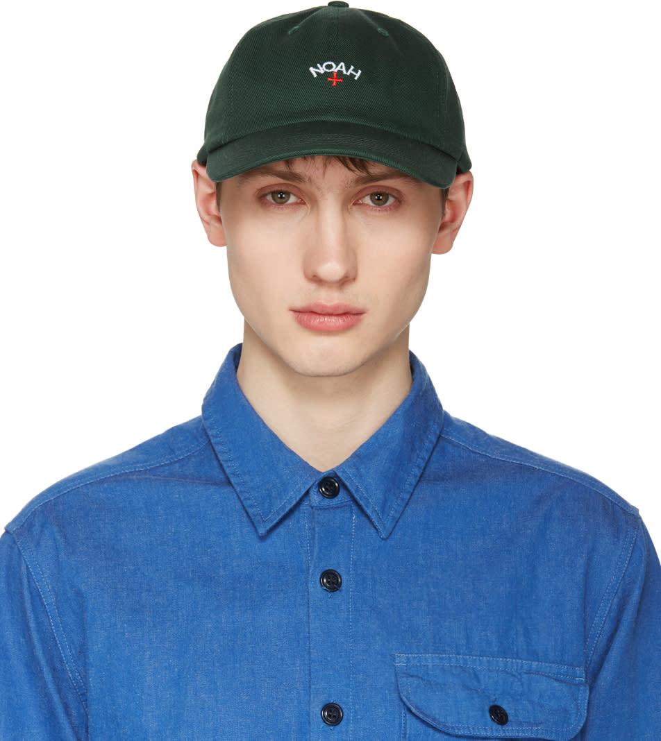 Noah Nyc Green Logo Cap