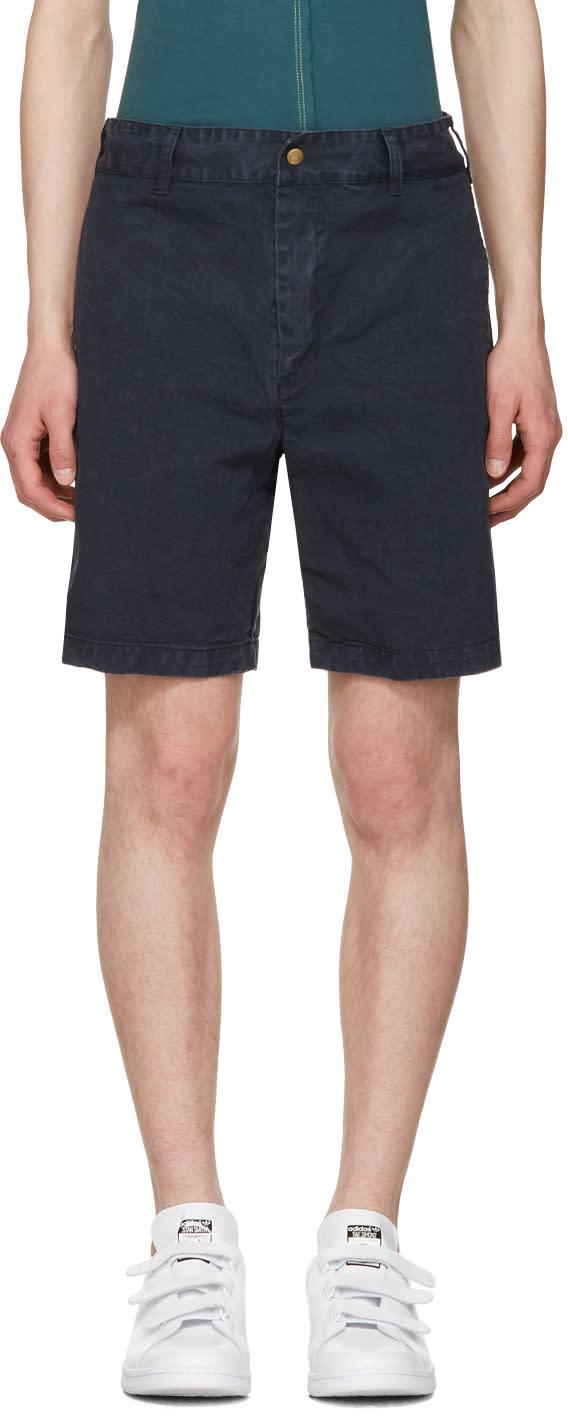 Noah Nyc Navy Chino Shorts