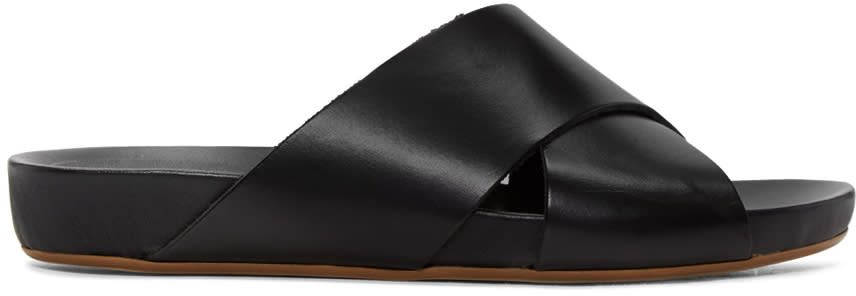 Image of Atp Atelier Black Doris Sandals
