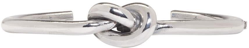 Emanuele Bicocchi Silver Knot Bracelet