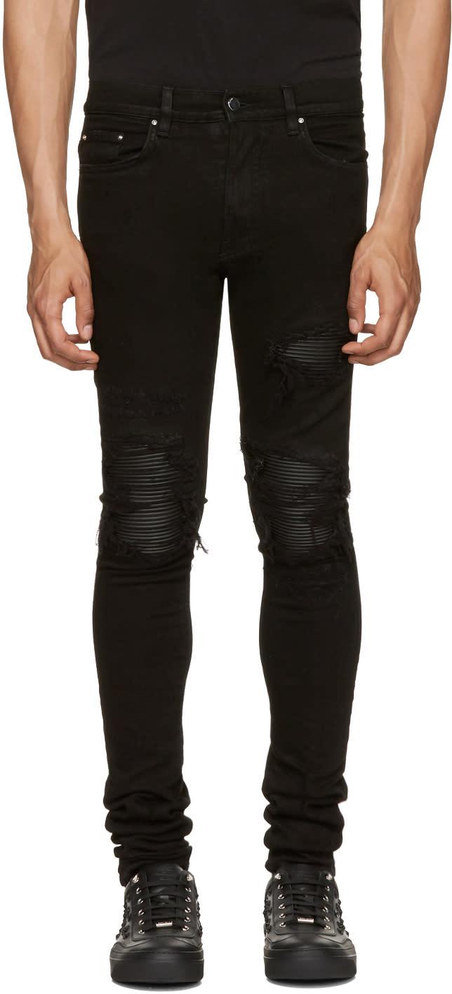 Amiri Black Skinny Classic Mx1 Jeans