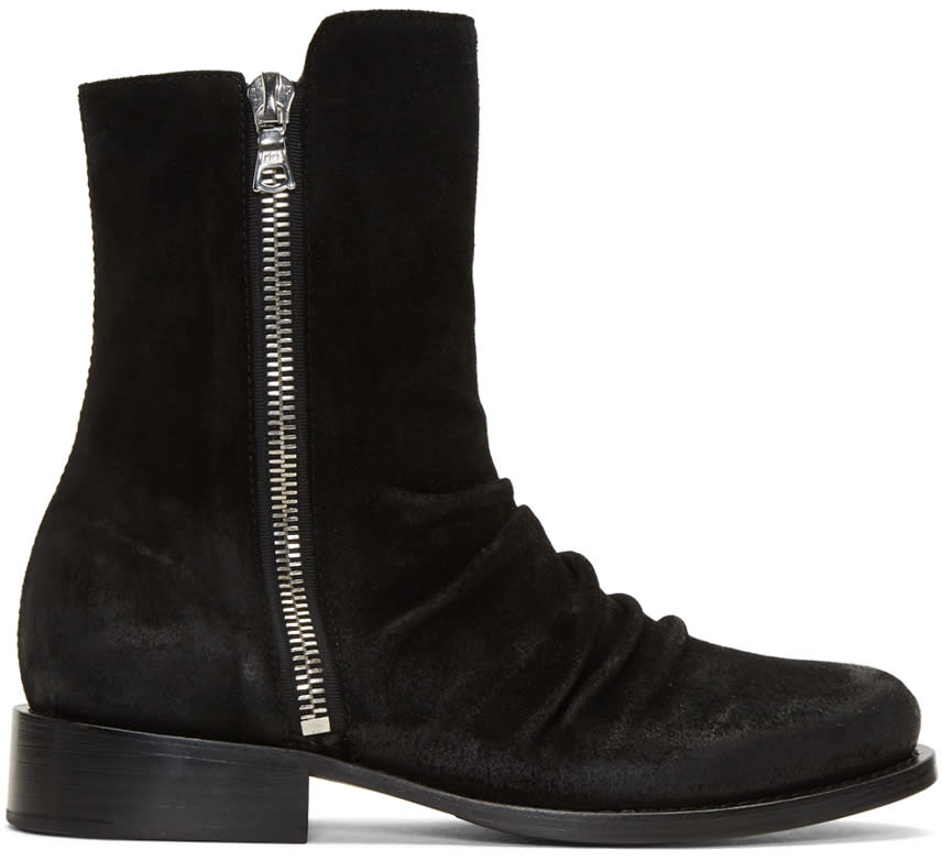 Image of Amiri Black Stack Boots