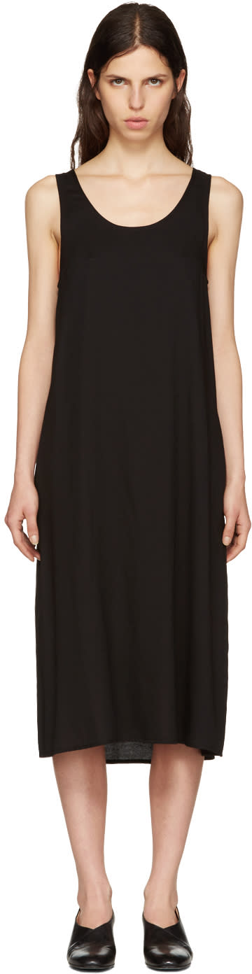 Moderne Black Didion Slip Dress
