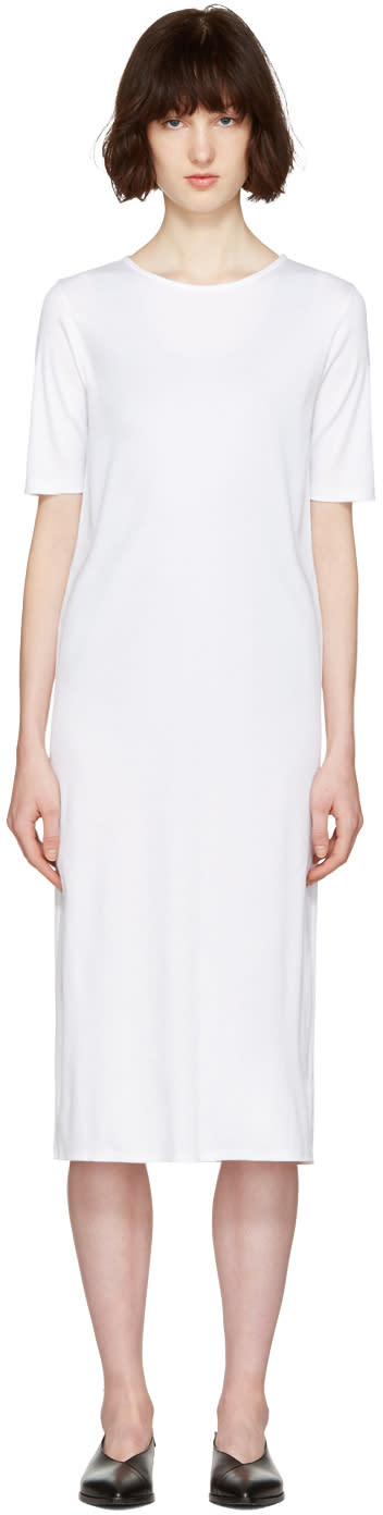 Moderne White Didion Dress